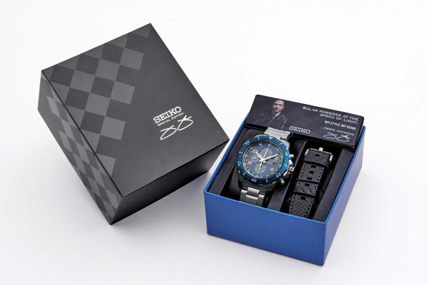Seiko Special Edition Jimmy Johnson Box Set SSC637
