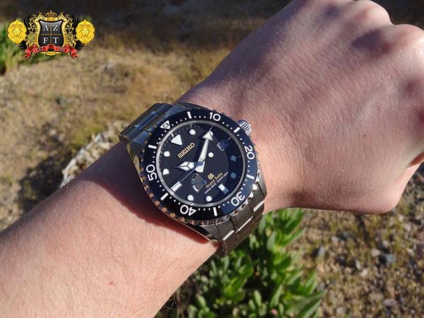 Grand Seiko Spring Drive Diver Titanium SBGA031