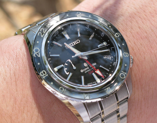 Grand Seiko Spring Drive GMT SBGE001
