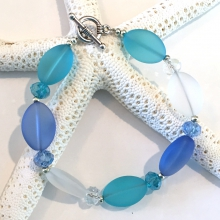 Sea Glass Inspired Bracelets
