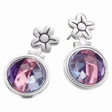 Kameleon Hinged Flower Post Earring