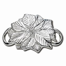 Convertible Sterling Silver Poinsettia