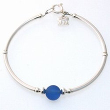 Cobalt Blue Sea Glass Bracelet PLEASE READ DISCRIPTION BELOW!!