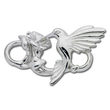 Convertible Sterling Silver Hummingbird Clasp