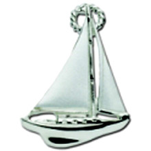 Large Convertible Sailboat Clasp