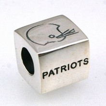 Sterling Silver Patriots Bead