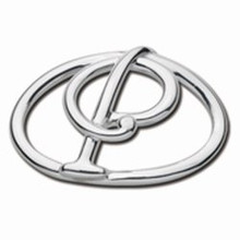 Convertible Sterling Silver P Initial Clasp