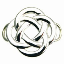 Convertible Sterling Silver Celtic Knot Clasp