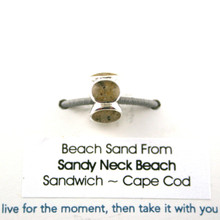 Sandy Neck Beach Sand Bead
