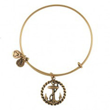 Nautical Anchor in Russian Gold