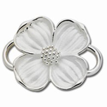 Convertible Sterling Dogwood Clasp