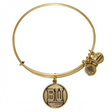 Alex and Ani Boston University Bangle Russian Gold