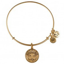 1 Alex and Ani Boston Celtics Bangle Russian Gold