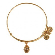 Alex and Ani Cupcake Bangle Russian Gold