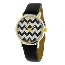 Black Chevron Watch
