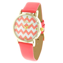 Fushia Chevron Watch