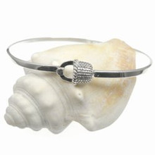 JBC18 Sterling Nantucket Basket Bangle