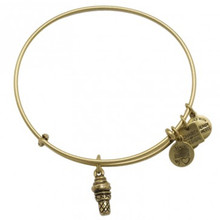 Alex and Ani Sweet Treat Bangle Russian Gold