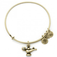 Alex and Ani Lamp of Light Bangle Russian Gold