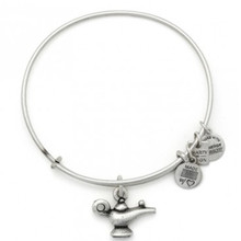 Alex and Ani Lamp of Light Bangle Russian Silver