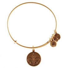 Alex and Ani Fleur De Lis Russian Gold