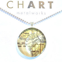 Julington Creek Chart Classic Necklace