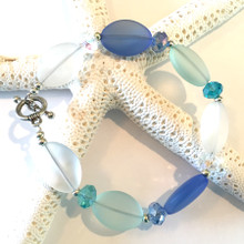 Sea Glass Inspired Bracelet 4