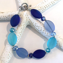 Sea Glass Inspired Bracelet 5