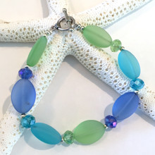 Sea Glass Inspired Bracelet 8