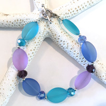 Sea Glass Inspired Bracelet 9