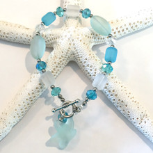 Sea Glass Inspired Bracelet 12