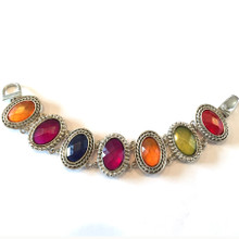 Multi Color Fashion Bracelet with Magnetic Clasp