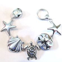 Large Sealife Fashion Bracelet with Magnetic Clasp