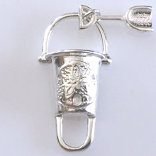 Convertible Sterling Silver Pail and Shovel