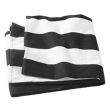 Cabana Stripe Towel with personalization