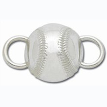 Sterling Silver Baseball Clasp