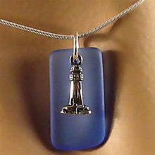 Lighthouse Seaglass Necklace