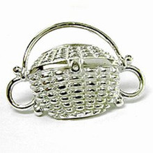 Convertible Sterling Silver Nantucket Basket