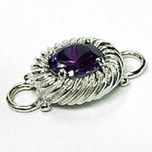 Convertible February Birthstone Clasp