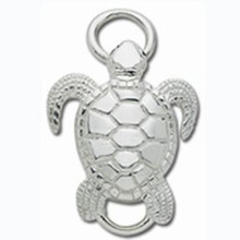 Convertible Sterling Silver Sea Turtle Clasp