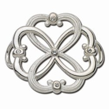 Convertible Sterling Silver 4 Love Clasp