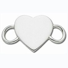 Convertible Sterling Silver Heart Clasp