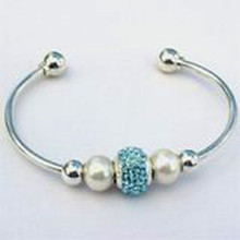 Sterling Silver Interchangeable Bead Bangle