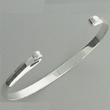 Sterling Silver Convertible Beachcomber Bangle.