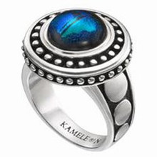 Kameleon Round Antique Ring Size 6 ONLY
