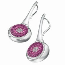 Kameleon Hinged Oval Drop Earring