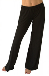 Black EveryWear Luxury Pant