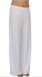 White EveryWear Luxury Pant