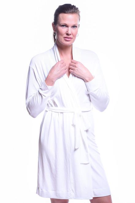 White Soft Robe