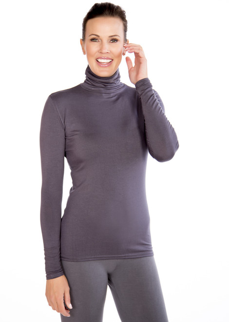 Slate Gray Turtleneck